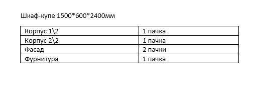 Шафа-купе БЕРЕГИНЯ 1500*600*2400мм (2дв., Д8) ДСП дуб тахо