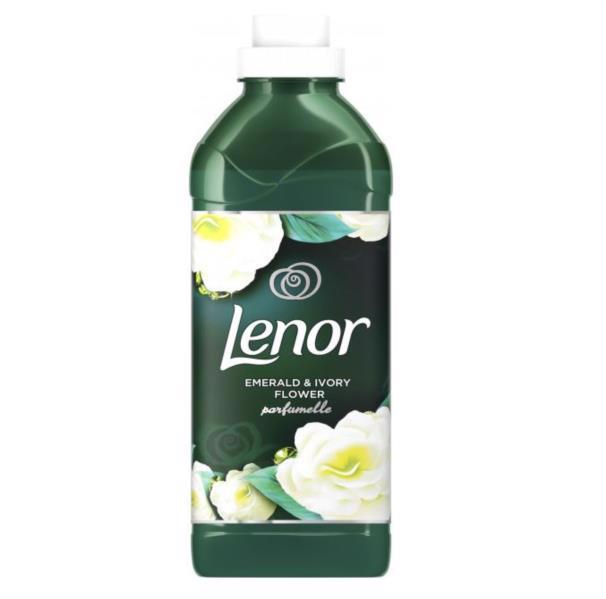 Кондиціонер д/білизни LENOR Смарагд та квітка кольору айворі 750мл