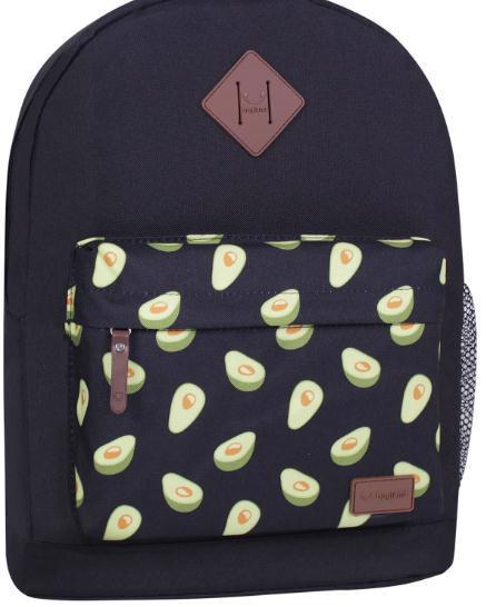 Рюкзак BAGLAND Молодіжний mini 23*32*10см авокадо субл. 763 50866