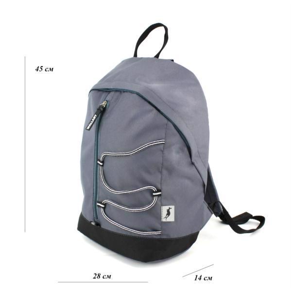 Рюкзак WALLABY 124 сірий