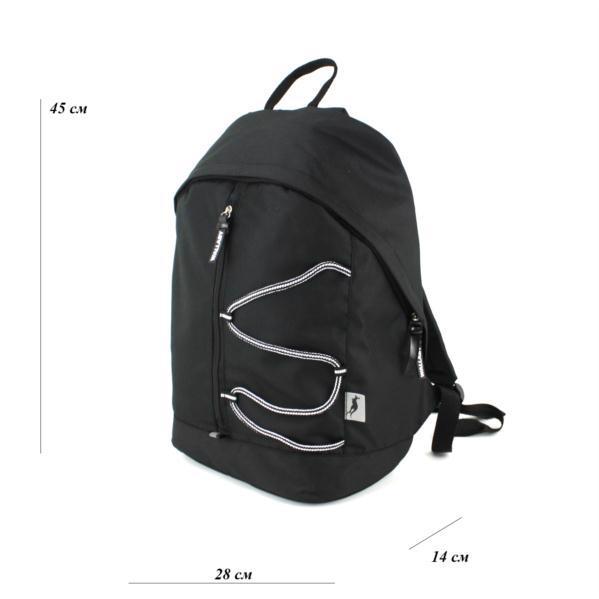 Рюкзак WALLABY 124 чорний
