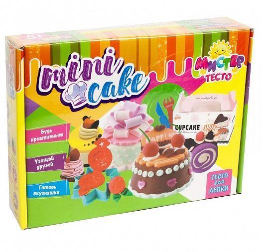 """Набір д/творч. STRATEG Містер тісто """"Mini cake"""" 71204"""