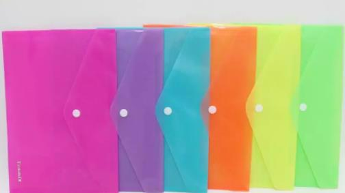 "Папка-конверт А5 ""Neon"" на кнопці 200мкм"