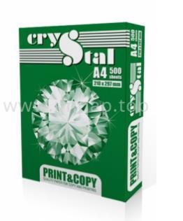 Папір А4 CRYSTAL Print Copy біла 75г/м кв. 500 аркушів