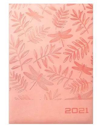 Щоденник А5 320арк BOURGEOIS датов. шкірзам 8919