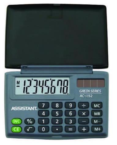 Калькулятор ASSISTANT AC-1152 8-розрядів