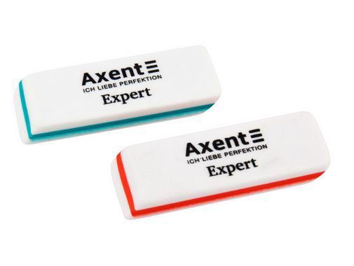 Гумка AXENT Expert прямокут. 50*18*8мм 1186-A