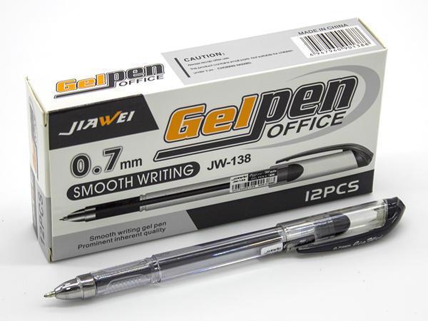 Ручка гелева син. 0.7мм JW-138