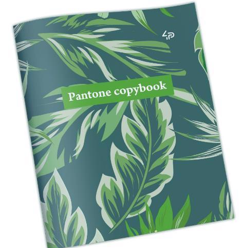 "Зошит 48арк PROFIPLAN ""Pantone copybook"" one 900718"