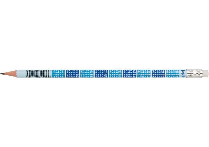 Олівець простий OPTIMA Maths HB з гумкою O15542