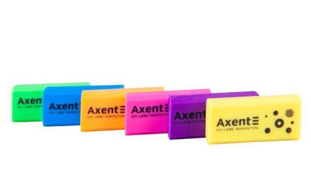 Гумка AXENT Neon в асорт. 1197-A