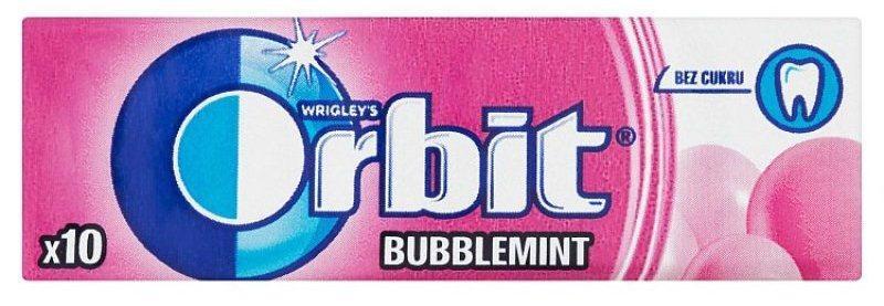 Гумка жувальна ORBIT Bubblemint