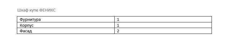 Шкаф-купе ФЕНИКС 1200*600*2400мм (2двери, зеркало) яблоня