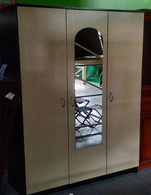 Шафа Кім 1200*450*2070мм (3 двері) венге ЦД