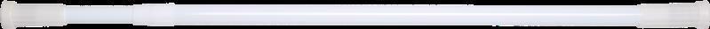 Штанга д/шторки телескоп.  70-120см білий EKODEO 68310/L710