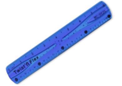 Лінійка пласт. 20см гнучка в асорт. BC-0020