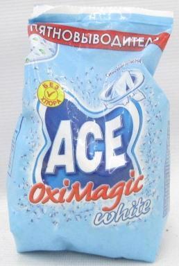 Плямовивідник ACE Oxi Magic White 200г