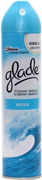 Освіжувач повітря GLADE Морський 300мл /аерозоль/