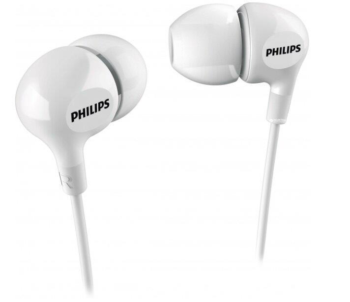 Навушники PHILIPS SHE3550WT White