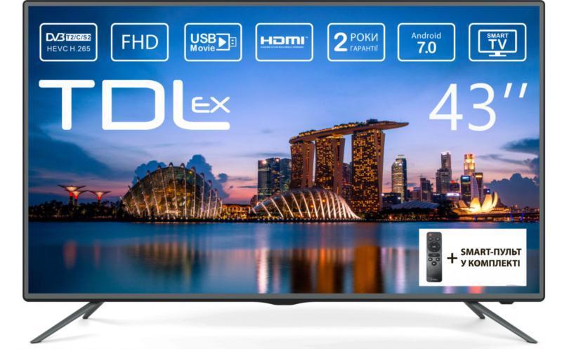 "Телевізор TDLEX 43"" LE-4348ST2 (7.0)"