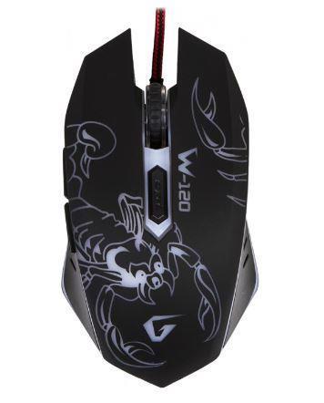 Миш комп. GEMIX W-120 USB Black