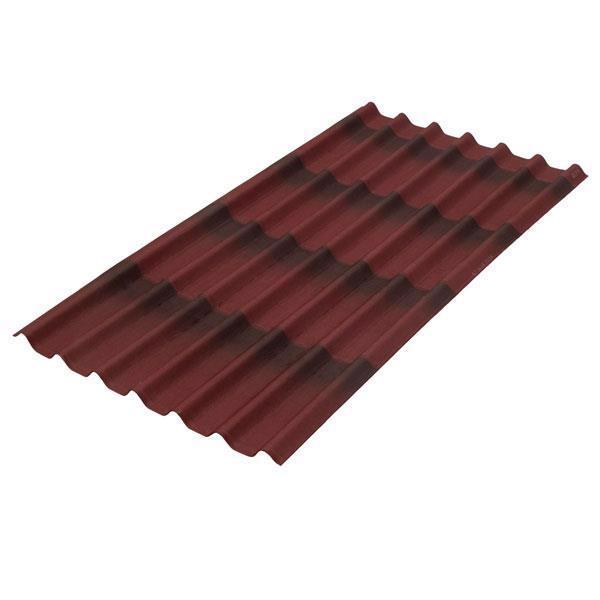 Лист бітумний ONDULINE Черепиця 1.95*0.96м червоний