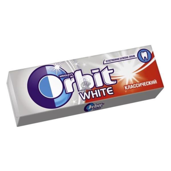 Гумка жувальна ORBIT White класичний