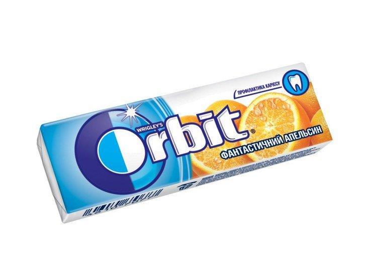 Гумка жувальна ORBIT Фантастичний апельсин