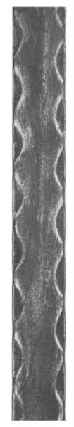 Ел-т кований АРТДЕКО Смуга 2000*12*6мм вальц. 30.008