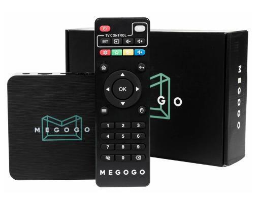 Приставка Smart TV inext TV4 Megogo