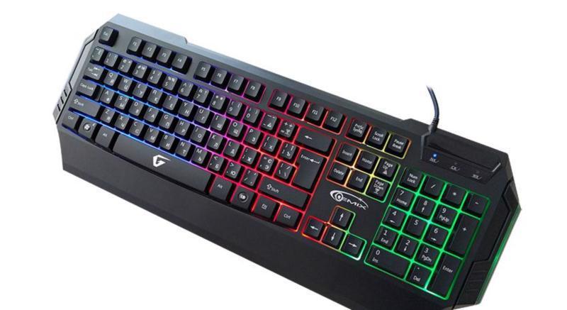 Клавіатура комп. GEMIX W-260 USB
