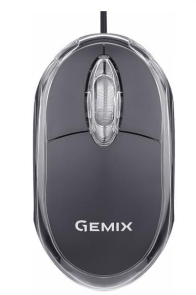 Миш комп. GEMIX GM105 USB black