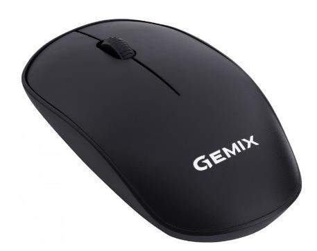 Миша комп.GEMIX GM195 бездротова Black