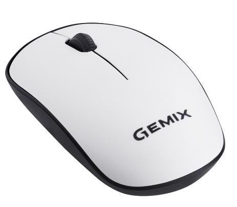 Миша комп.GEMIX GM195 бездротова White