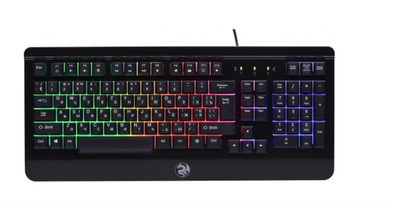 Клавиатура комп. 2E GAMING KG310 LED USB Black