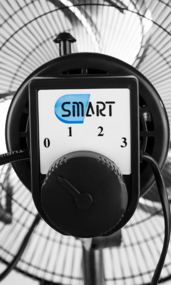 Вентилятор підлоговий SMART FS45D-1 3-х швид. чорний