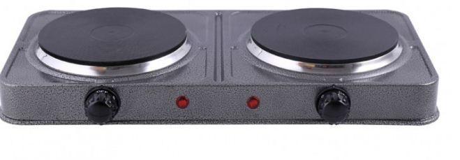 Електроплита 2нагр. ел-та GRUNHELM 2400Вт GHP-5814