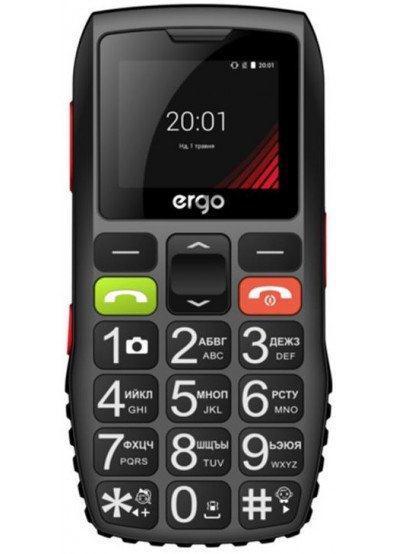 Мобільний телефон ERGO F184 Respect DualSim Black