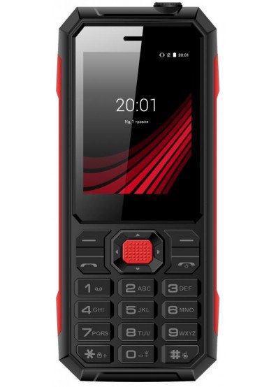 Мобільний телефон ERGO F248 Defender DualSim Black