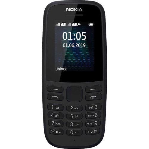 Мобільний телефон NOKIA 105 DualSim Black