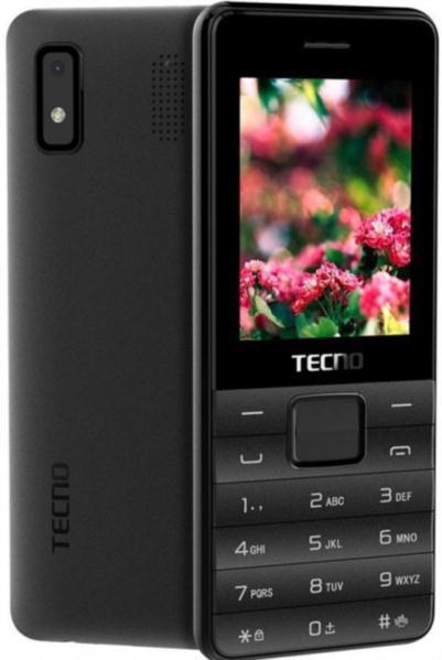 Мобільний телефон TECNO T372 TripleSim Black