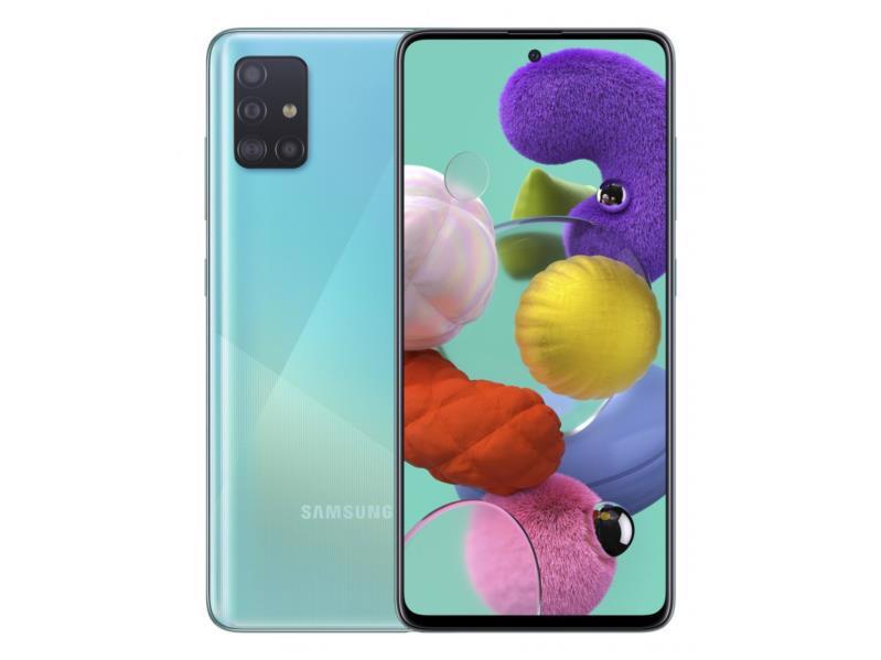 Смартфон SAMSUNG Galaxy A51 SM-A515F 4/64Gb DualSim Blue