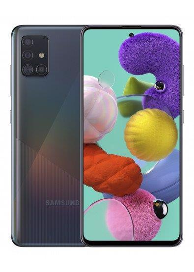 Смартфон SAMSUNG Galaxy A51 SM-A515F 6/128Gb DualSim Black