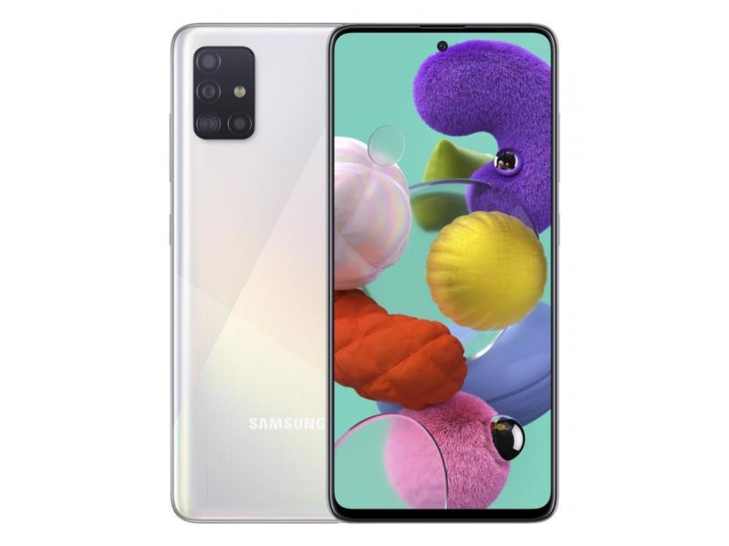 Смартфон SAMSUNG Galaxy A51 SM-A515F 6/128Gb DualSim White