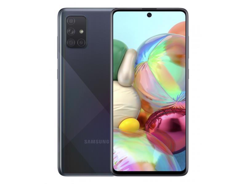 Смартфон SAMSUNG Galaxy A71 SM-A715F 6/128Gb DualSim Black