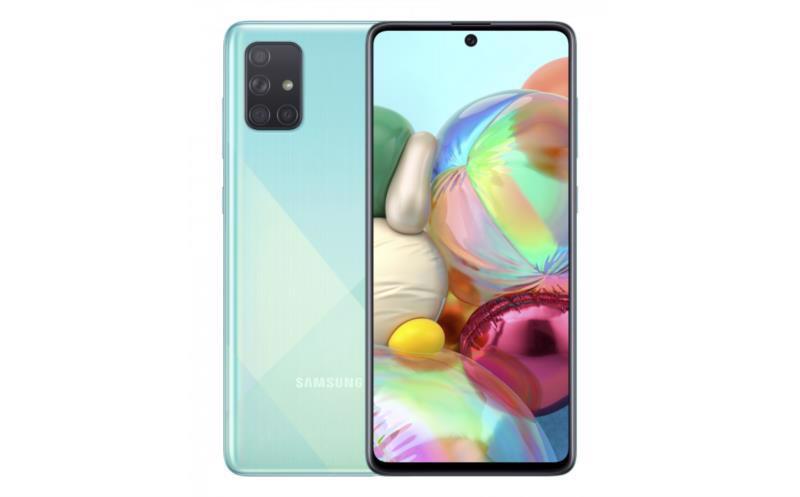 Смартфон SAMSUNG Galaxy A71 SM-A715F 6/128Gb DualSim Blue
