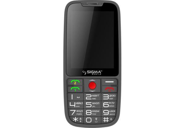Мобільний телефон SIGMA Comfort 50 Elegance3 DS black