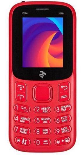 Мобільний телефон 2E E180 2019 DualSim Red