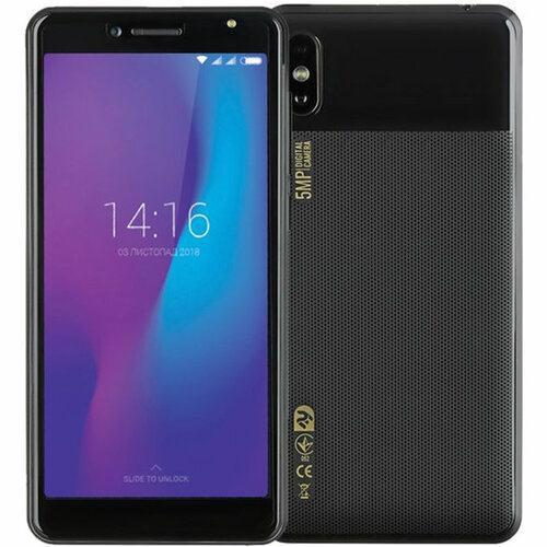 Смартфон 2E E500A 2019 1/8Gb Duos Black