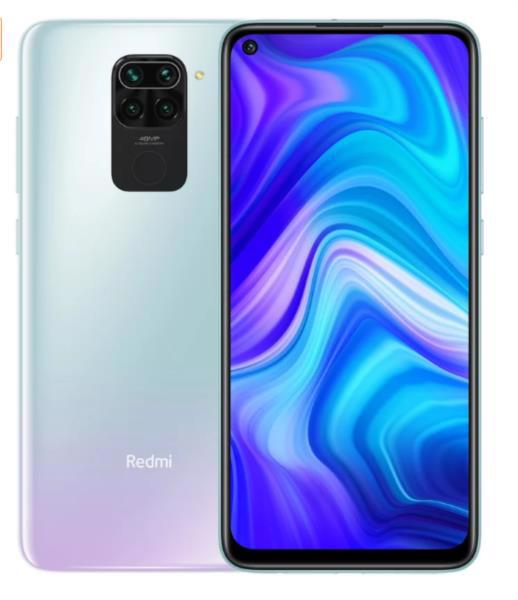 Смартфон XIAOMI Redmi Note 9 4/128Gb Polar White